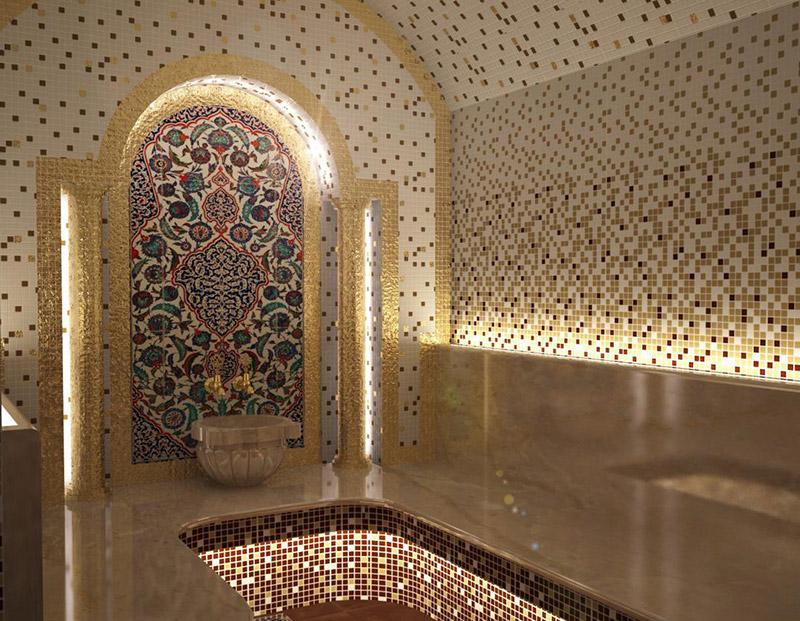 мозаика для хаммама