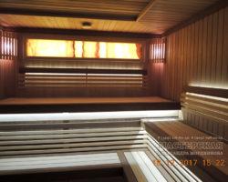 Русская баня на дровах