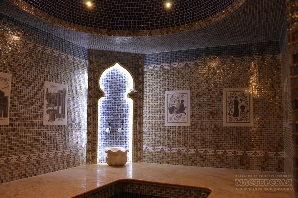 турецкая баня-хамам