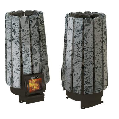 Печь для бани Grill'D Cometa Vega 180 Short Stone (Серпентинит)