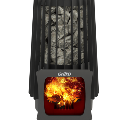 Печь для бани Grill'D Cometa Vega Short Window