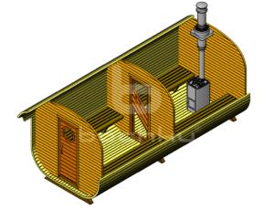 Баня-квадробочка Мега-2