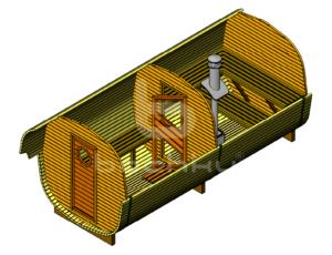 Баня-октабочка Мега-2