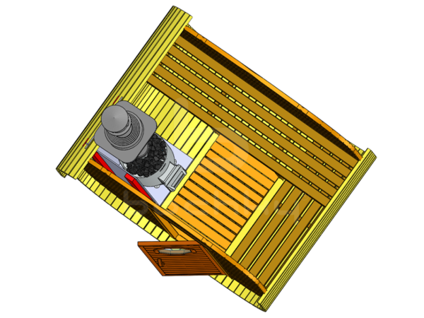 Баня-квадробочка ЭКО