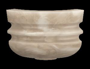 Светильник мраморный МС09 угловой