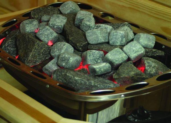 Жадеит шлифованный для каменки